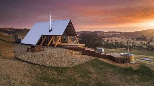 Kimo Estate's luxury eco-cabins are fully booked for the next 11 months.